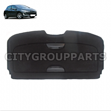 GENUINE PEUGEOT 308 MODELS FROM 2007 TO 2014 PARCEL SHELF LOAD COVER TWO PARTS